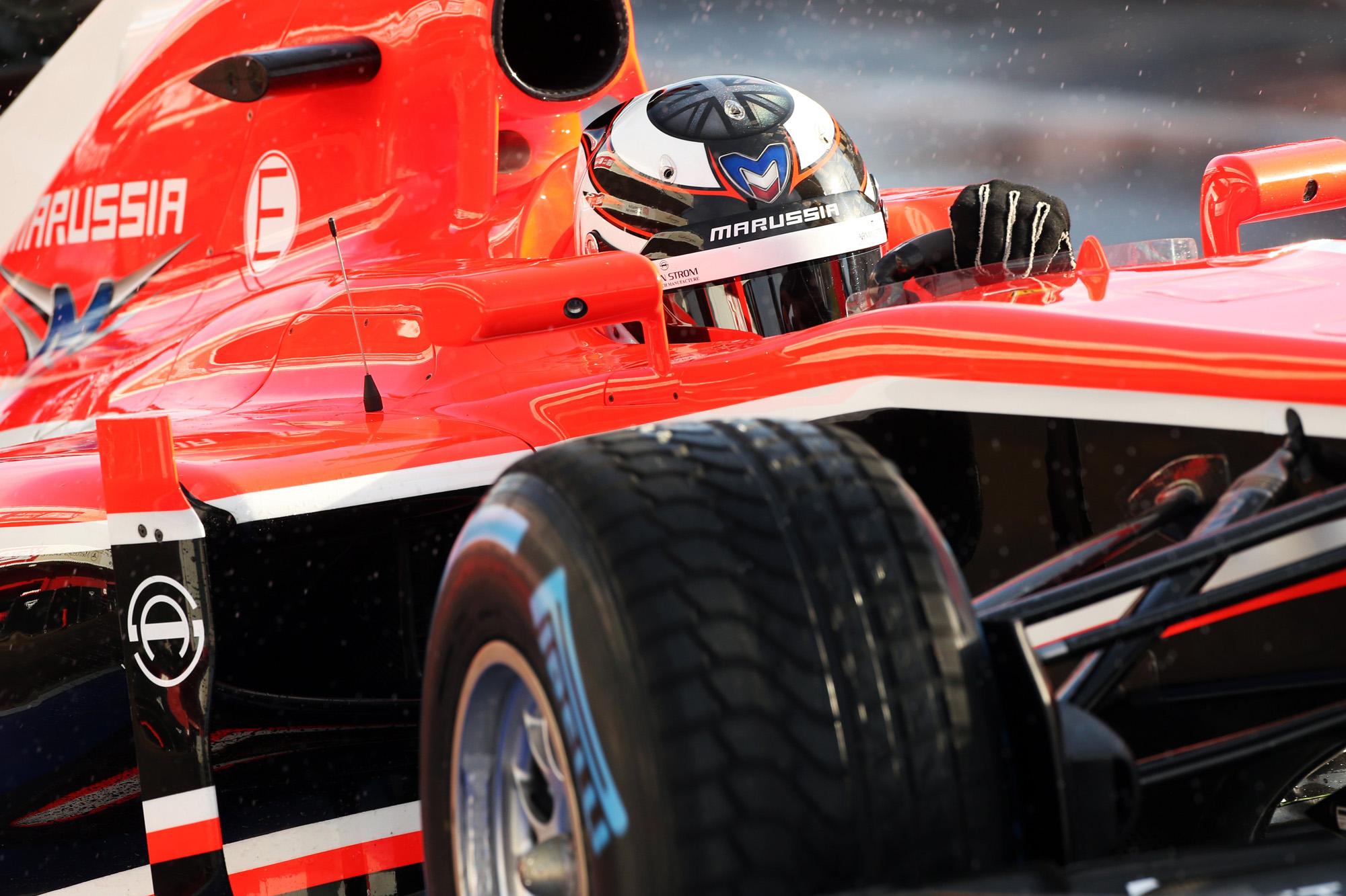 Maurussia F1 Team Car (Sponsored by Armin Strom)
