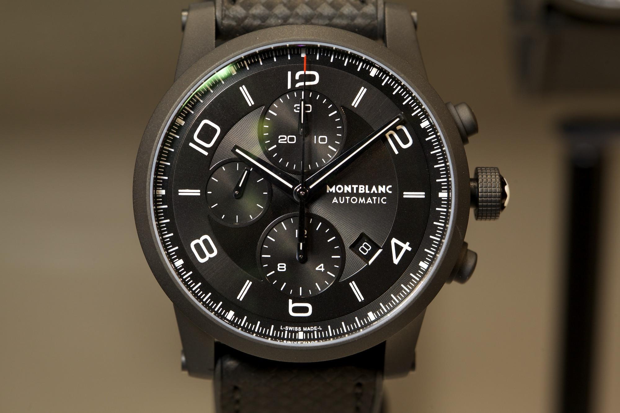 SIHH 2014 Montblanc Timewalker Extreme Chronograph DLC