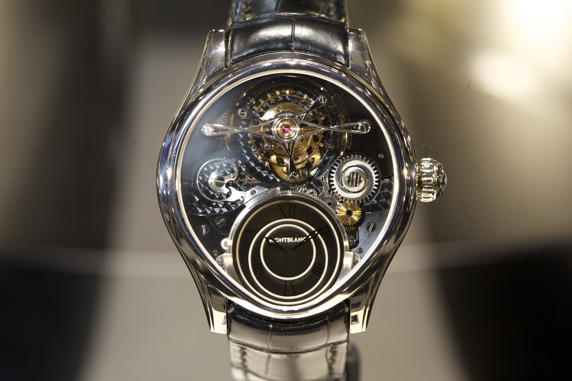 SIHH 2014 Montblanc Villeret Collection 1858 - Tourbillon By-Cylindrique