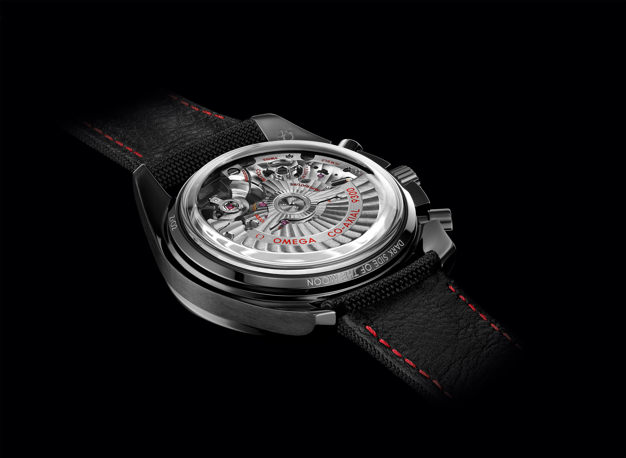 Omega Speedmaster Dark Side of the Moon - Caseback