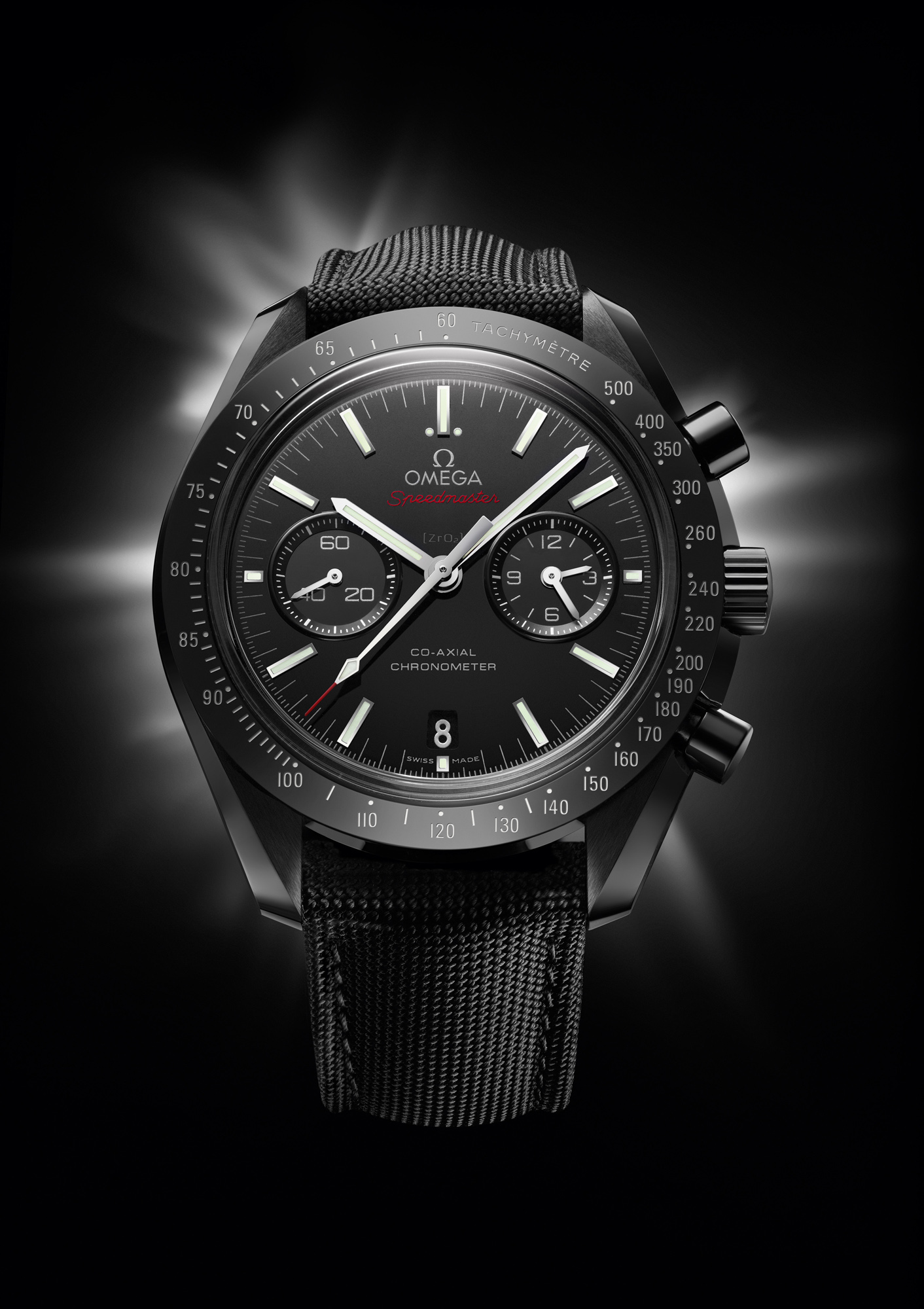 Omega Speedmaster Dark Side of the Moon - Dial