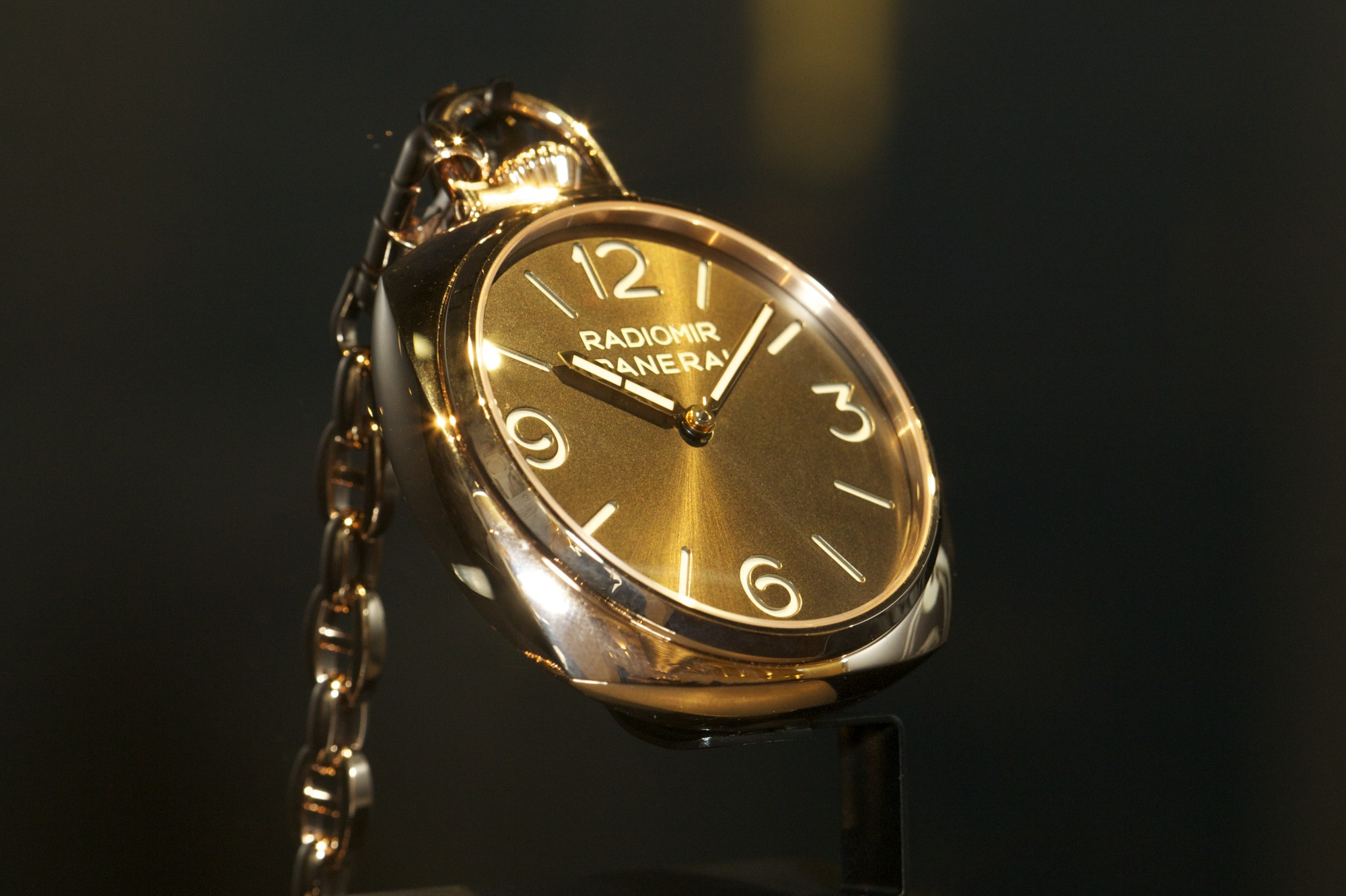 Panerai Pocket Watch 3 Days Oro Rosso 50mm