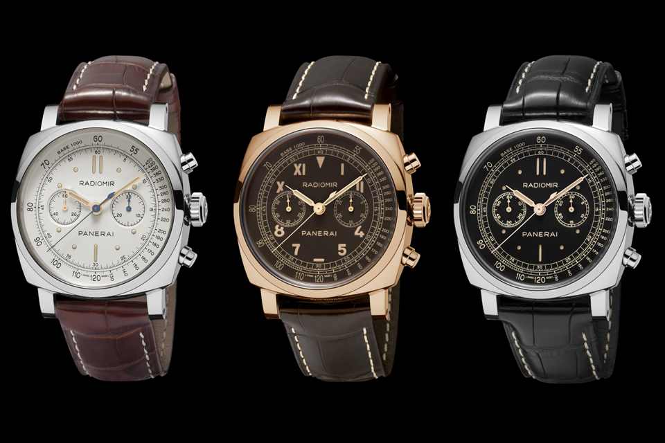 SIHH 2014 Panerai Tradition Radiomir Collection