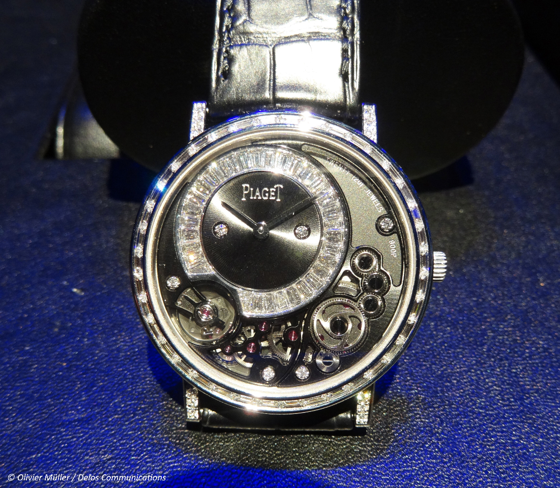 SIHH 2014 Piaget Altiplano 38mm 900P - Jewellery Version