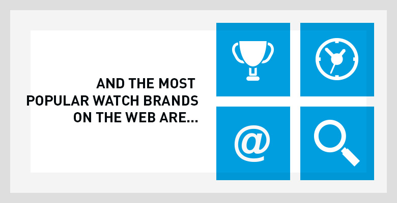 The most Popular Watch Brands of the WEB