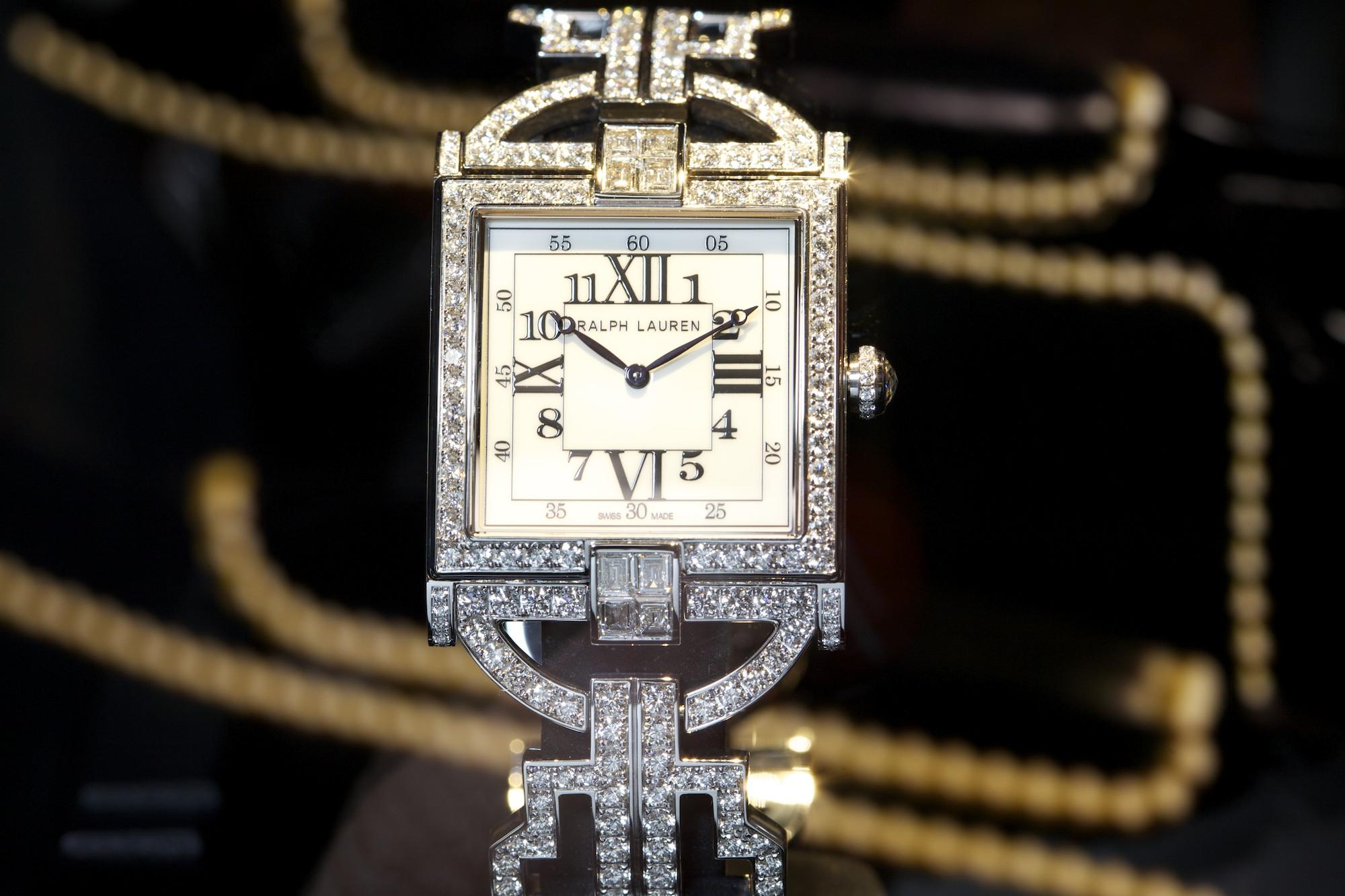 Ralph Lauren 867 Diamond Timepiece