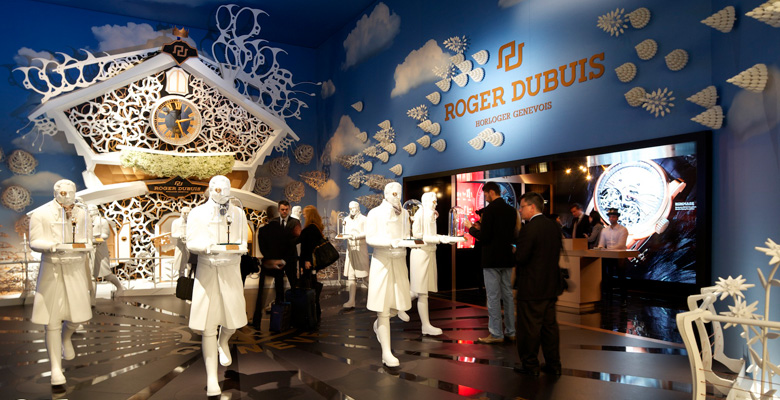 Roger Dubuis at SIHH 2014 - Photo Report