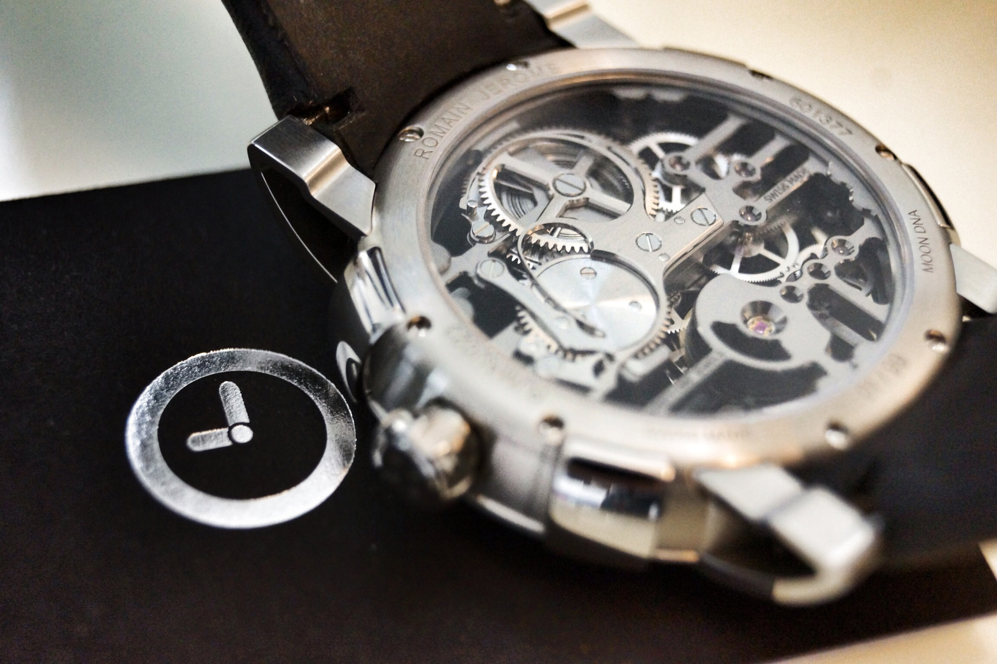 Romain Jerome Skylab Skeleton - Caseback
