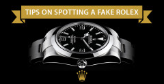 Tips on spotting a fake Rolex