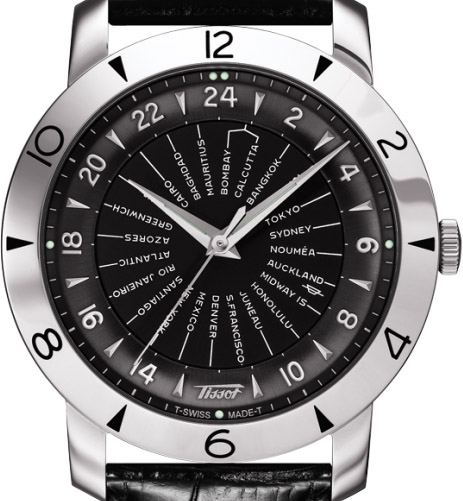 Tissot Heritage Navigator 160th Anniversary - Dial