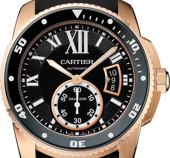 Calibre de Cartier Diver - Dial
