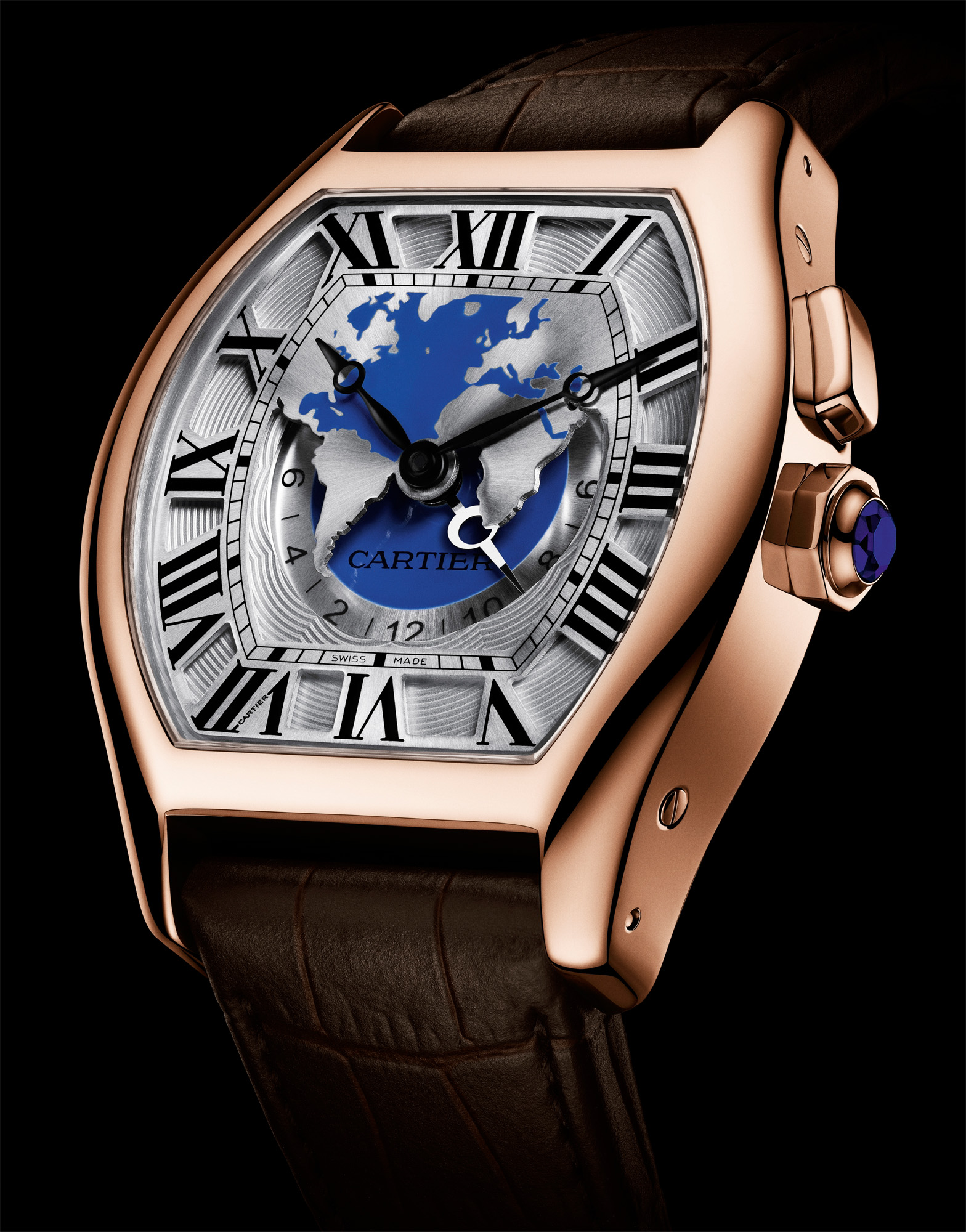 Cartier Tortue XXL Multiple Time Zone