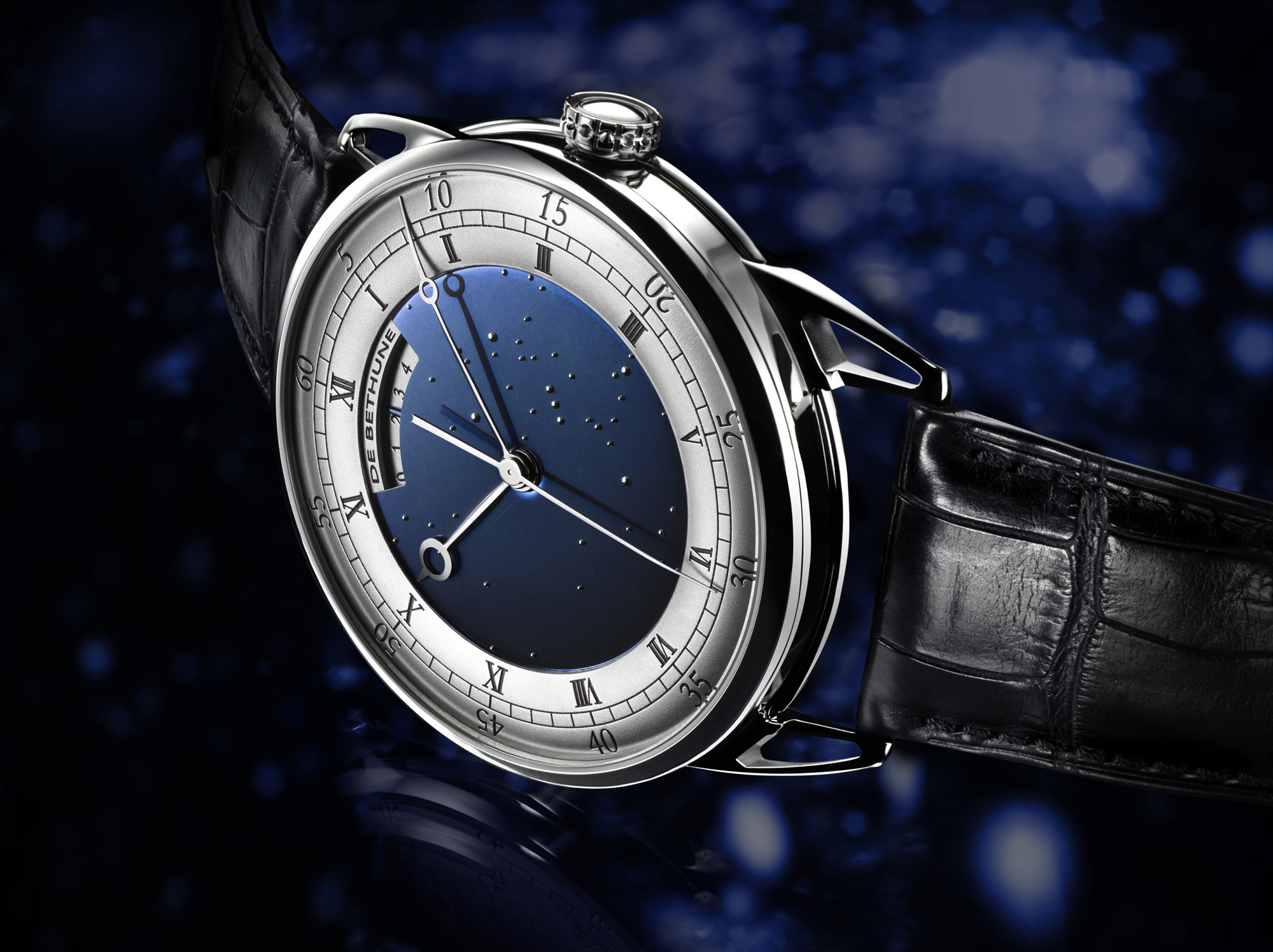 De Bethune DB25T Tourbillon Regulator - Case