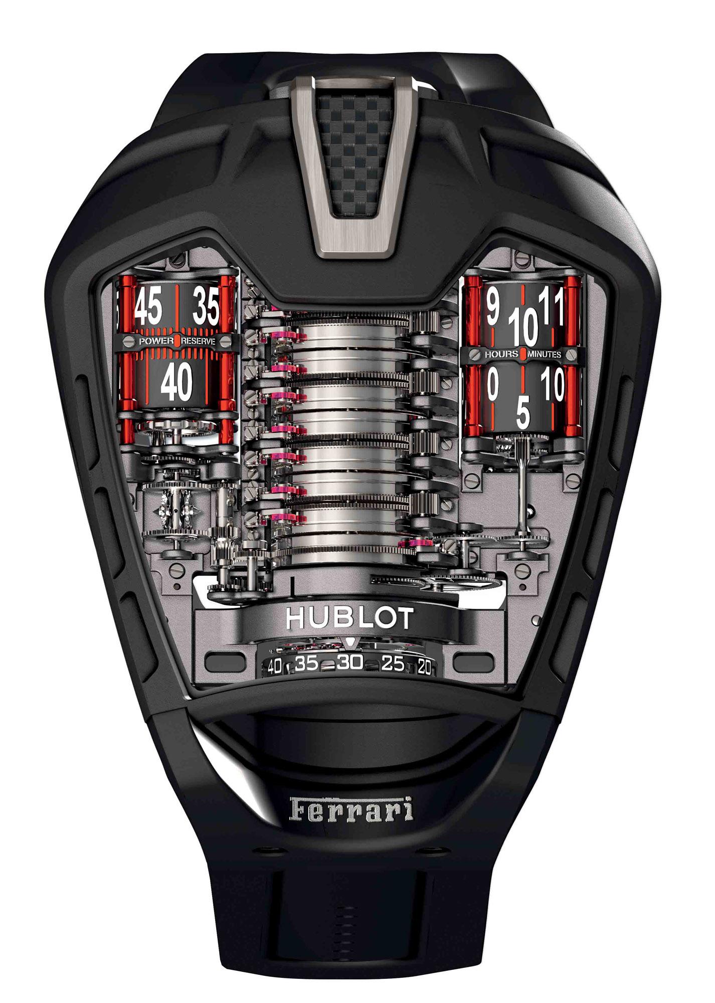 Hublot MP-05 LaFerrari - Dial