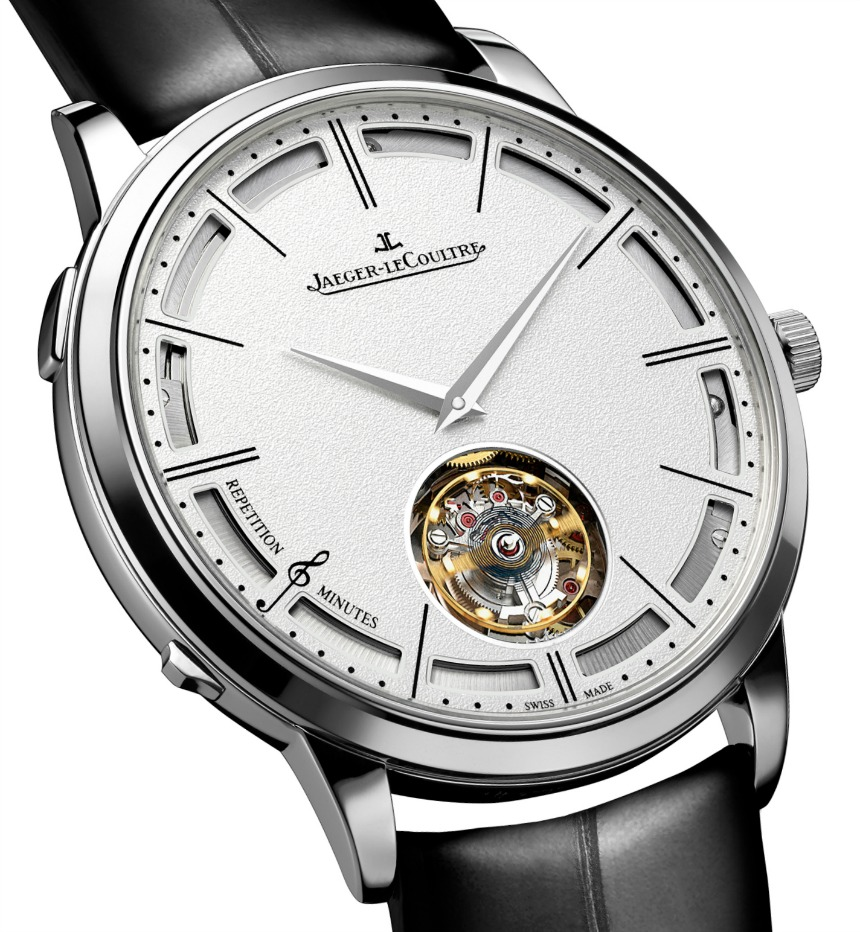Jaeger-LeCoultre Master Ultra-Thin Minute Repeater Flying Tourbillon - Dial