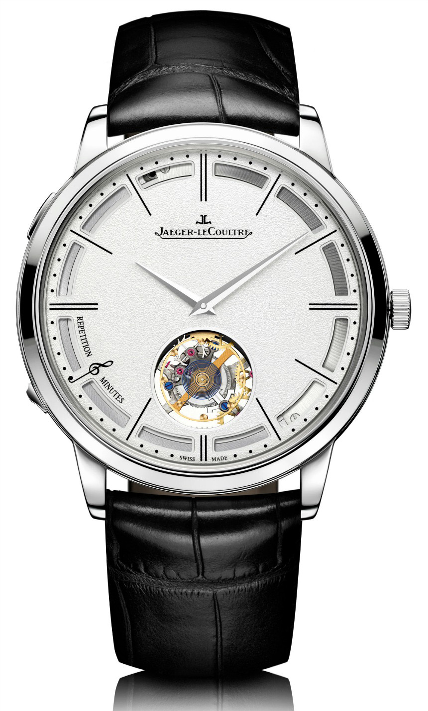JLC  Master Ultra-Thin Minute Repeater Flying Tourbillon