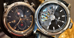 Louis Moinet Mecanograph and Geograph Hands-on
