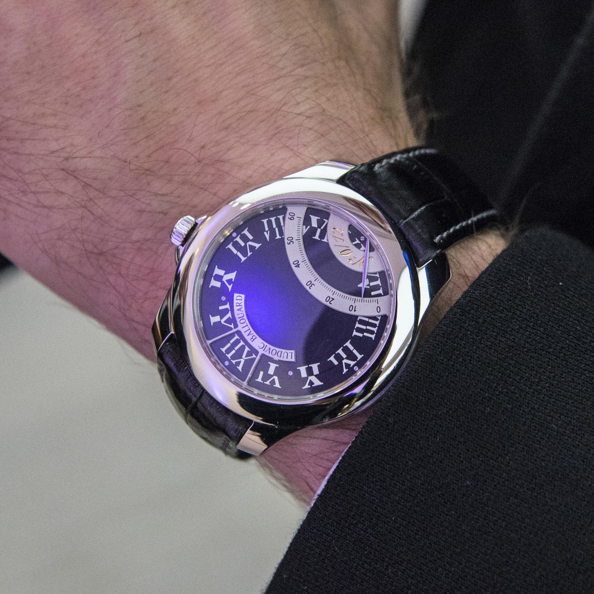 Ludovic Ballouard The Half Time - Wristshot