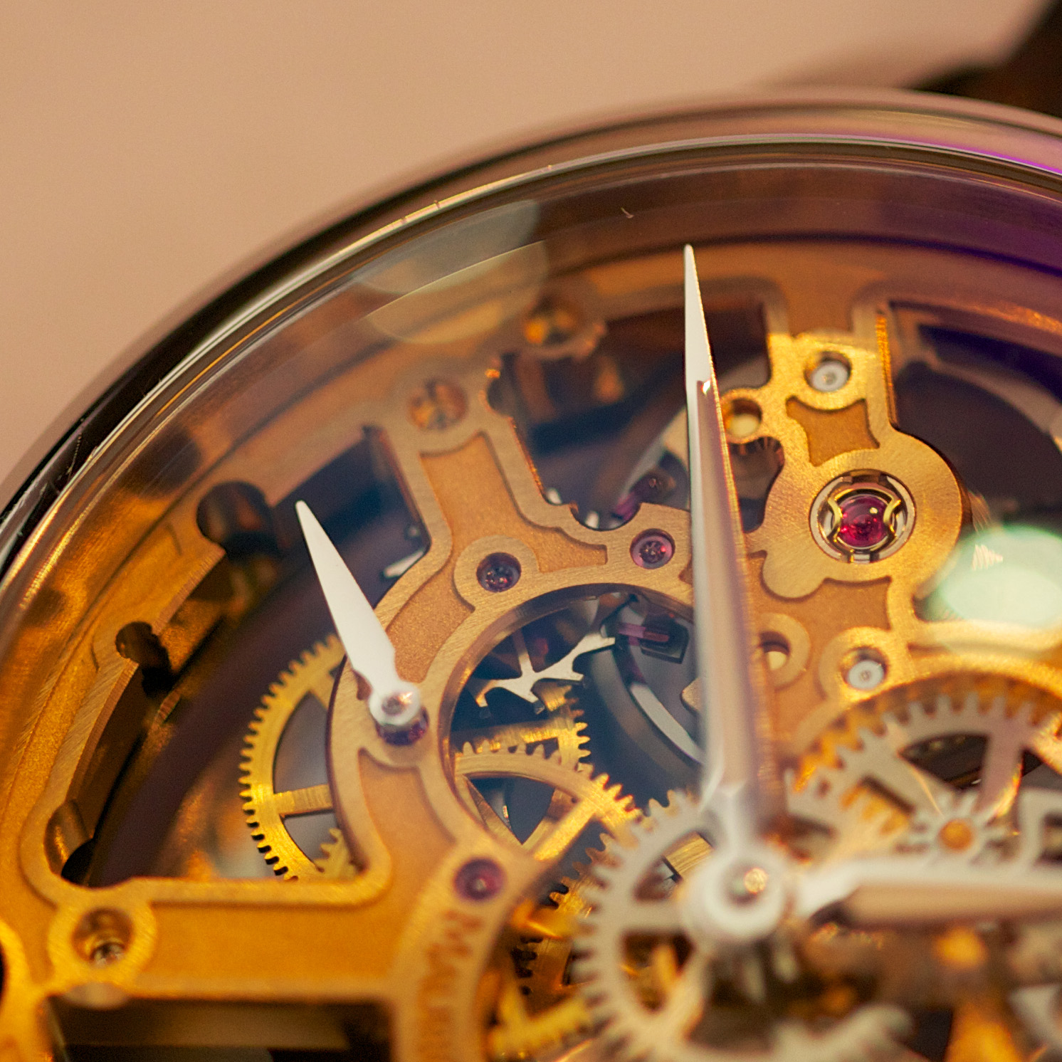 Maurice Lacroix Masterpiece Squelette - Dial Close-up