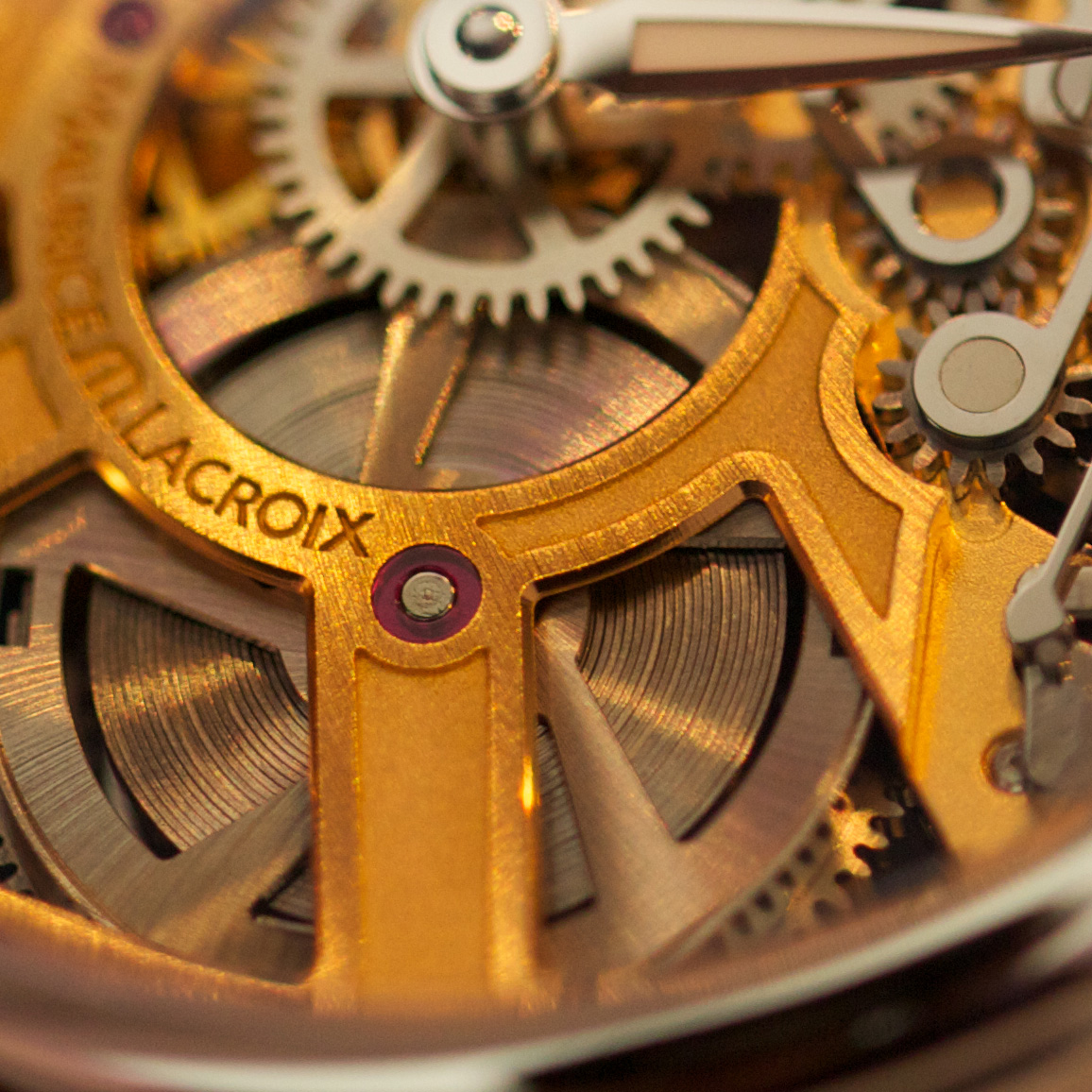 Maurice Lacroix Masterpiece Squelette - Movement