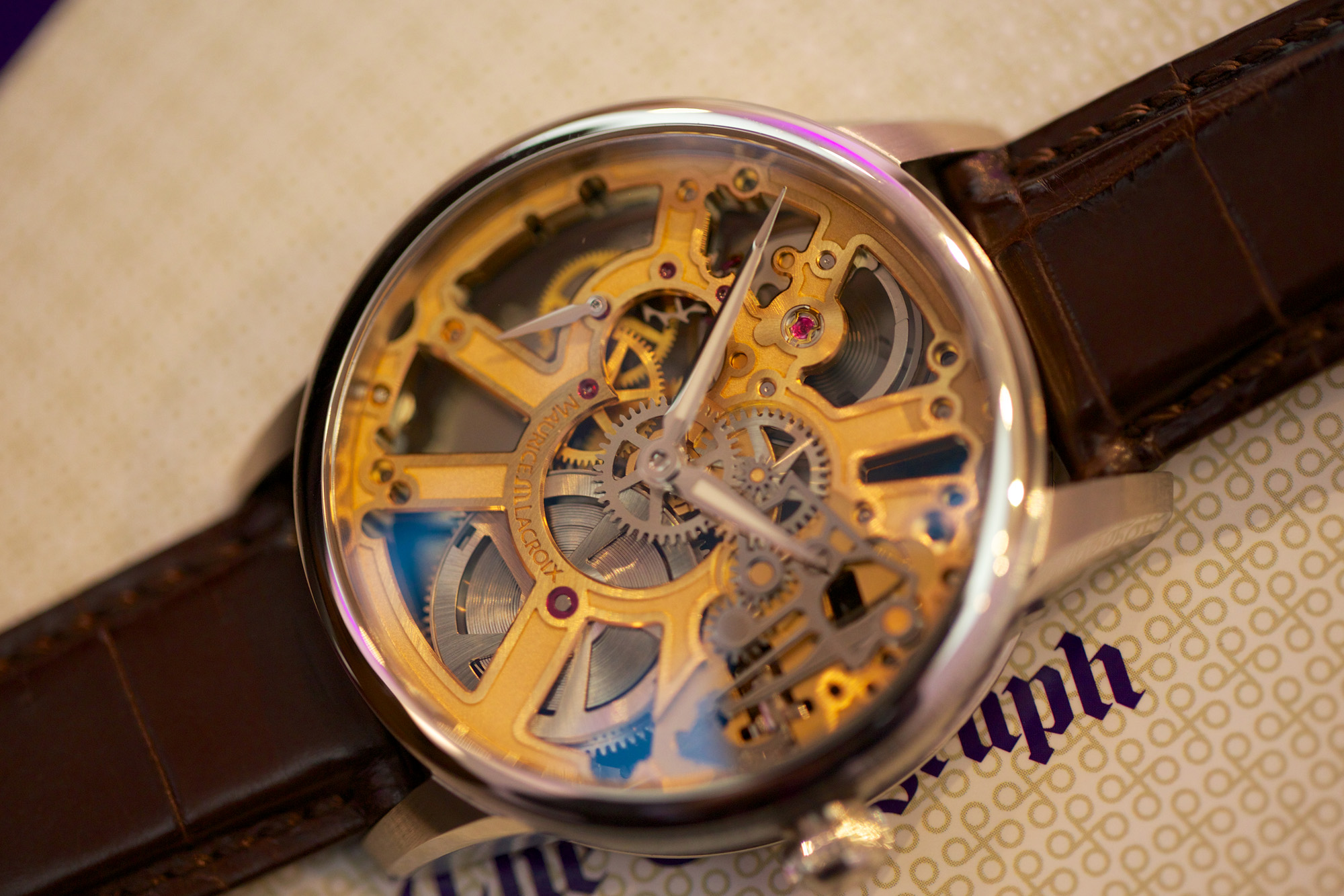 Maurice Lacroix Masterpiece Squelette - Watch