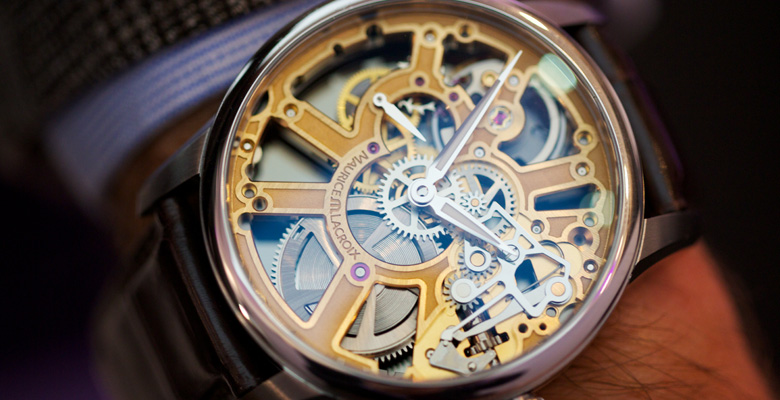 Maurice Lacroix Masterpiece Squelette - Look, but don't touch?
