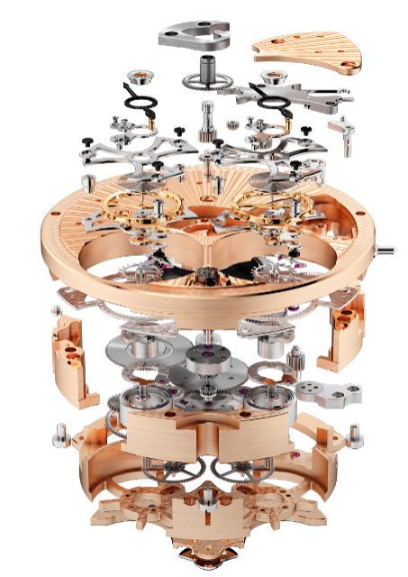 Roger Dubuis RD102 Movement