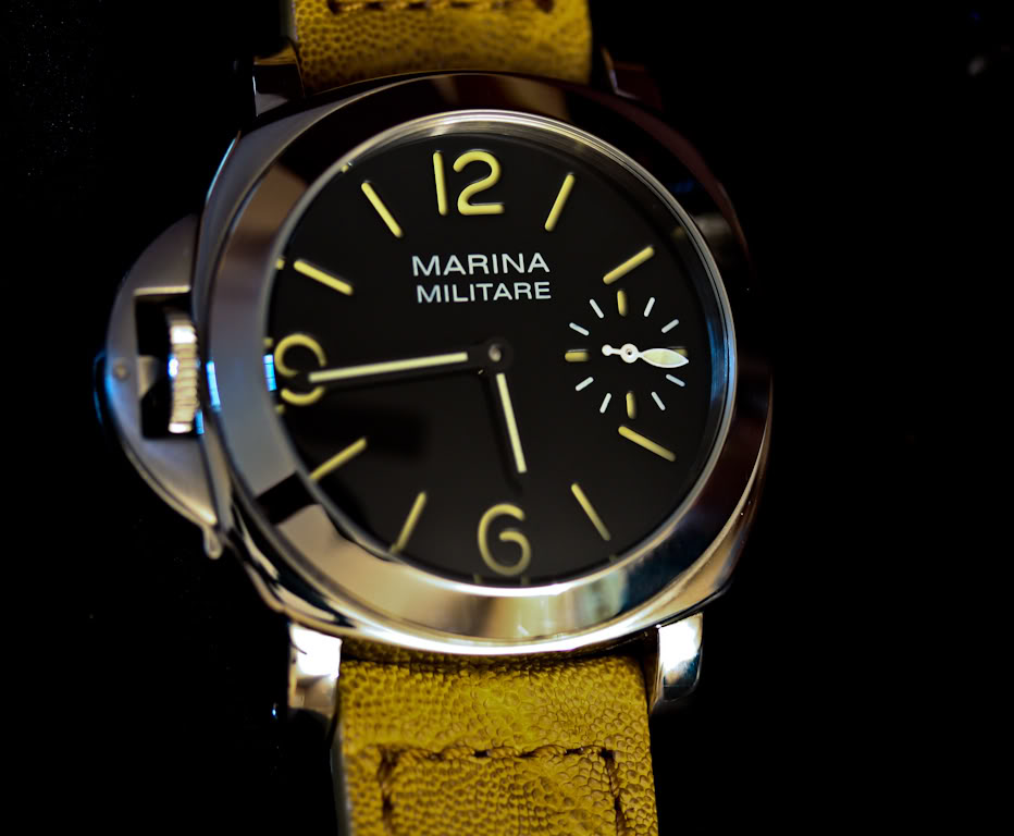 Parnis Marina Militare 47mm PVD 1950