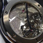 These are not diamonds, but Osmium, the rarest metal in the world, by Hublot