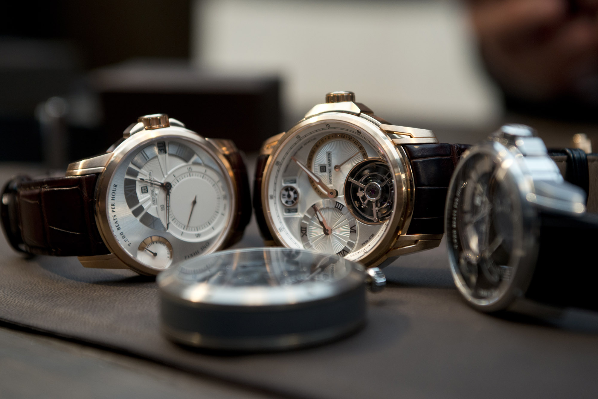 Antoine Martin Collection at Baselworld 2013