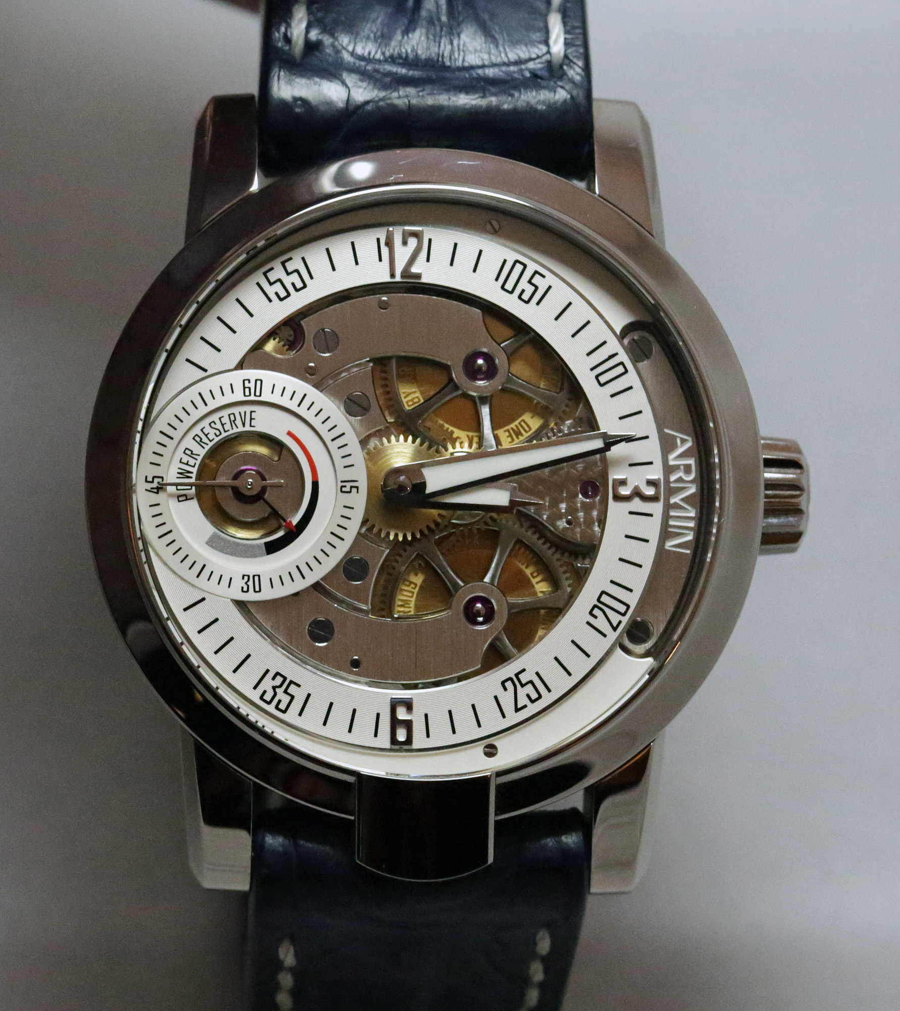 Armin Strom One Week Water - Dial