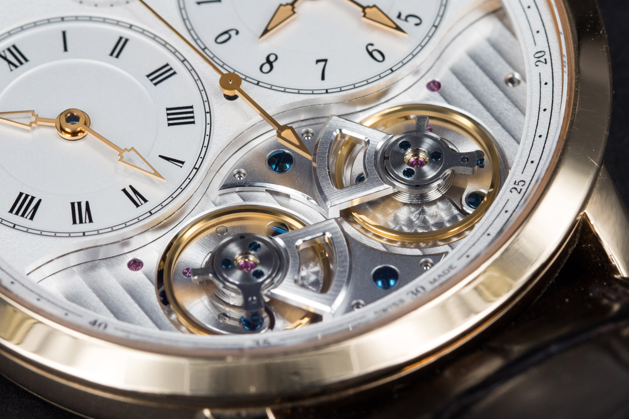 Arnold & Son DBG - Dial (Lower Half)