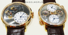 Arnold & Son DSTB (Dial Side True Beat) - Baselworld 2014