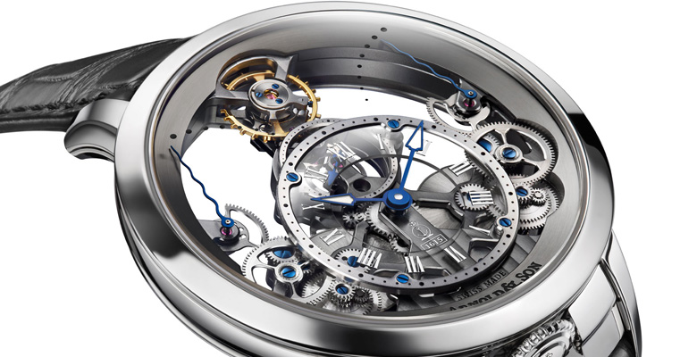 Arnold & Son builds the Pyramid of Time