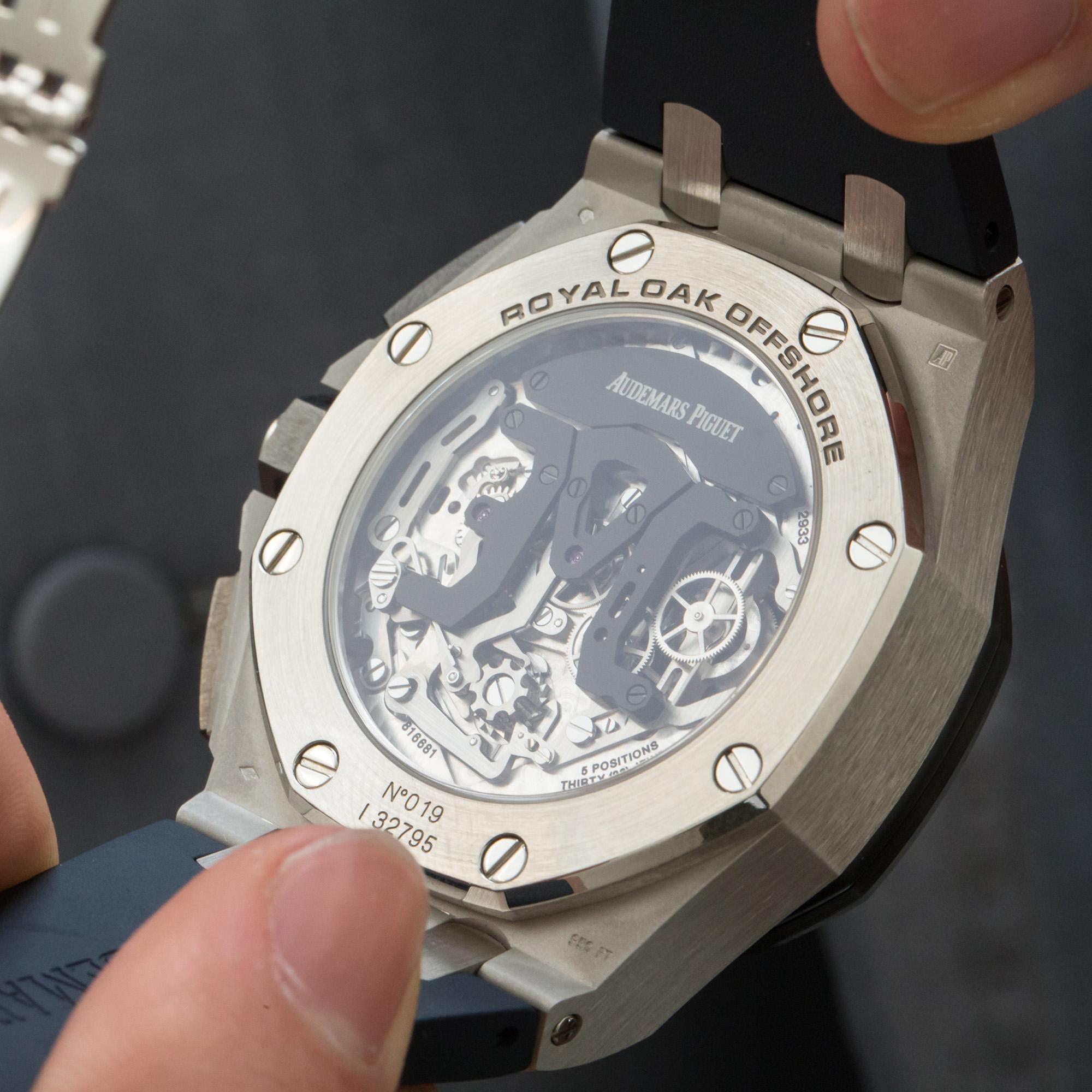 Audemars Piguet Tourbillon Chronograph - Caseback
