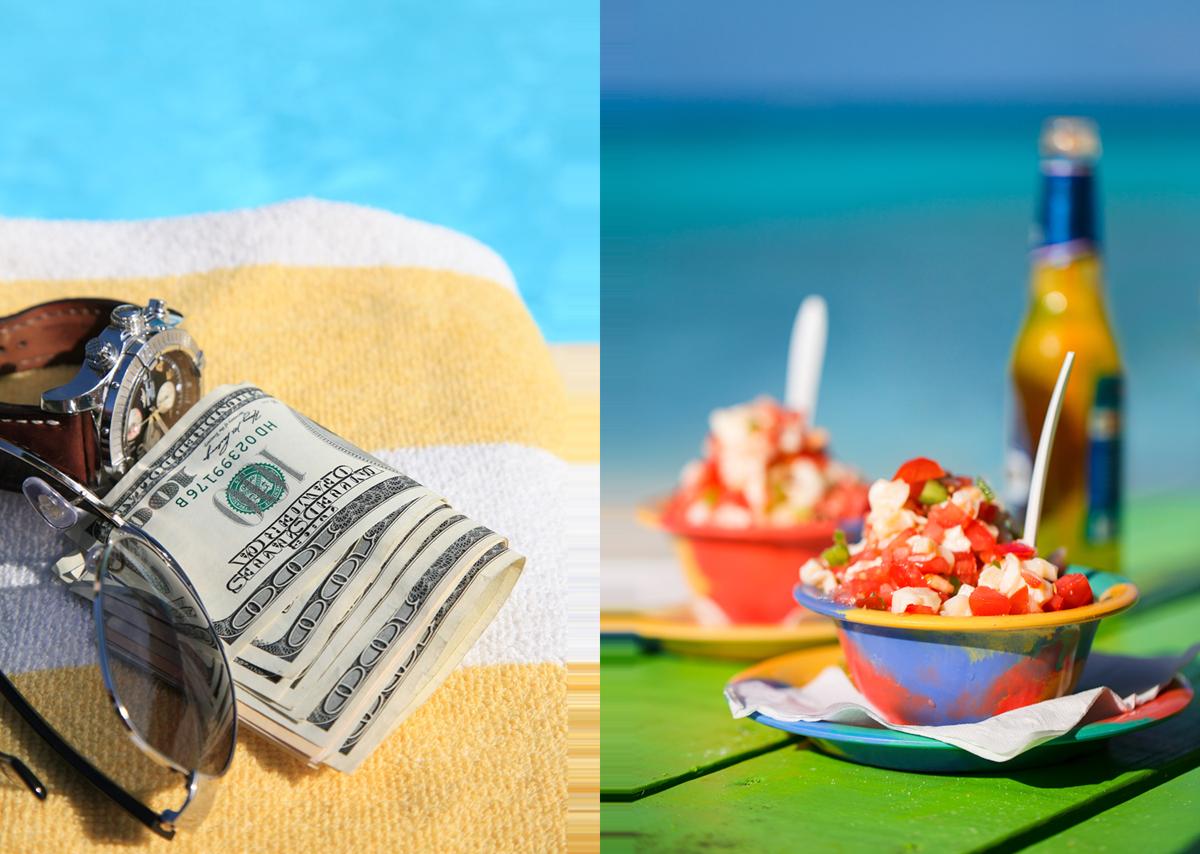 Fun In The Sun – Conch Salad & Local Beer