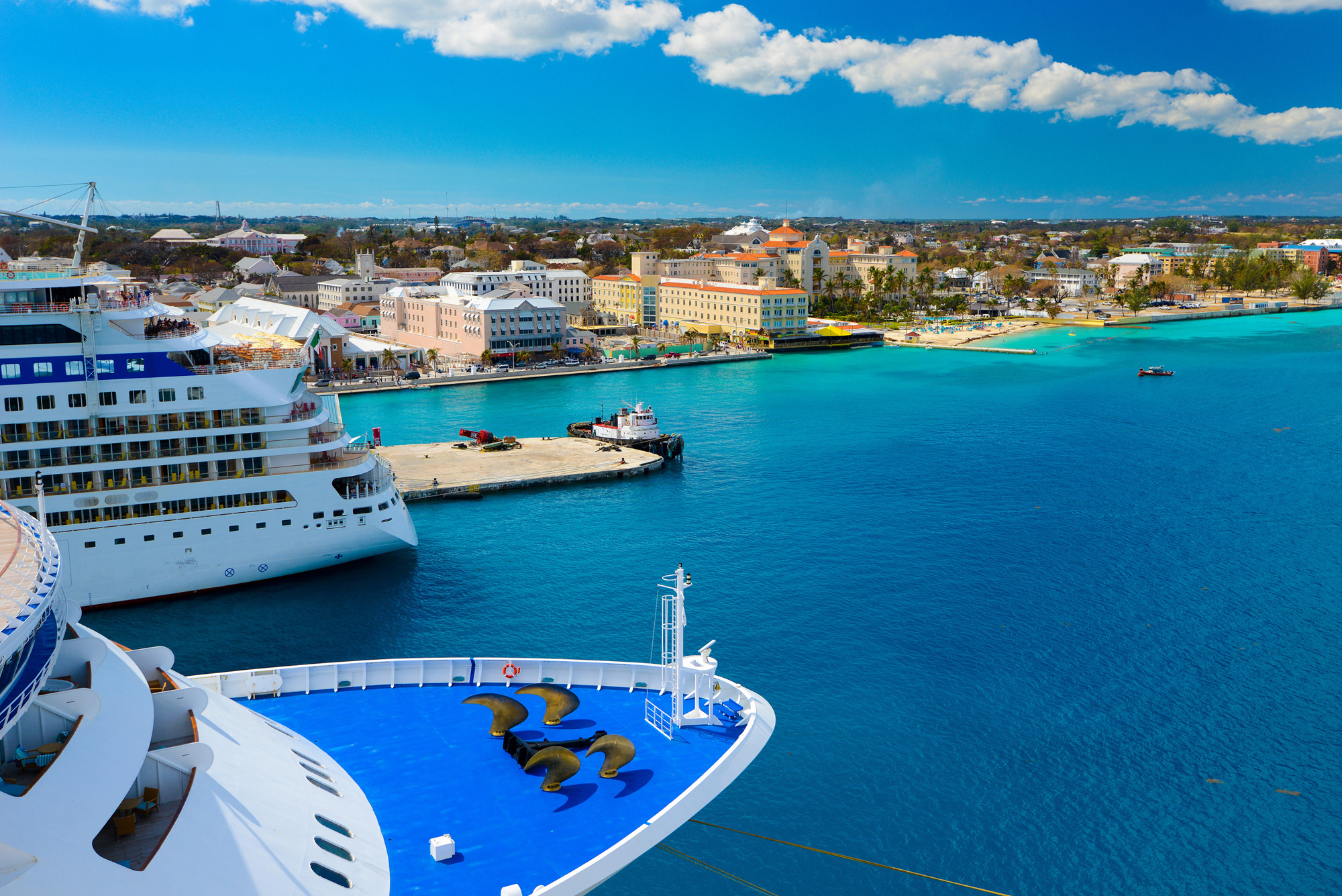 Bahamas Harbor - Cruise Ship