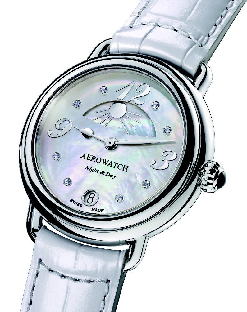 Baselworld 2014 - Aerowatch Collection 1942 « Night & Day »