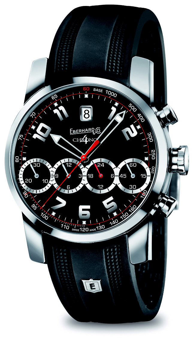 Baselworld 2014 - Eberhard & Co Chrono 4 Watch