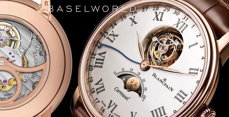 Blancpain Villeret Carrousel Moon Phase - Baselworld 2014