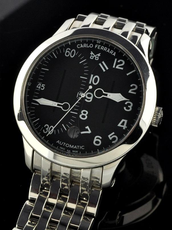 Carlo Ferrara Regolatore Sport Model Watch