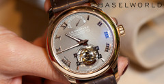 Chopard Tourbillon QF Fairmined - Baselworld 2014