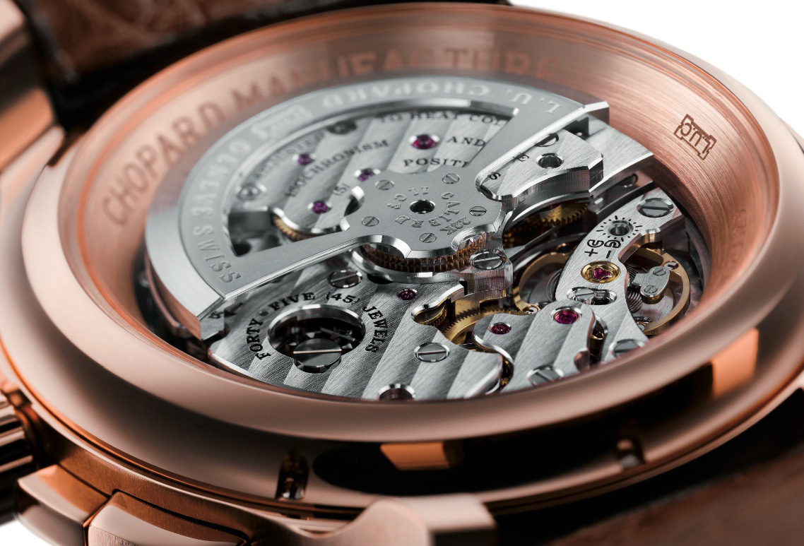 Chopard Tourbillon QF Fairmined - Caseback