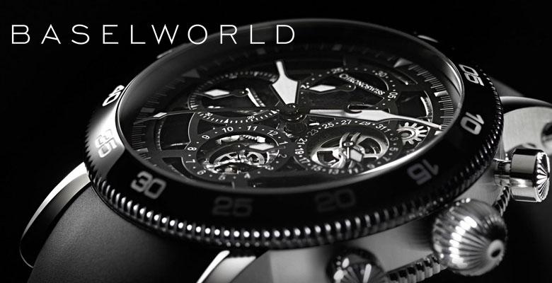 Chronoswiss Timemaster Chronograph Skeleton - Baselworld 2014
