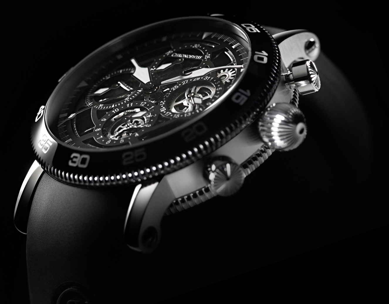 Chronoswiss Timemaster Chronograph Skeleton - Crown