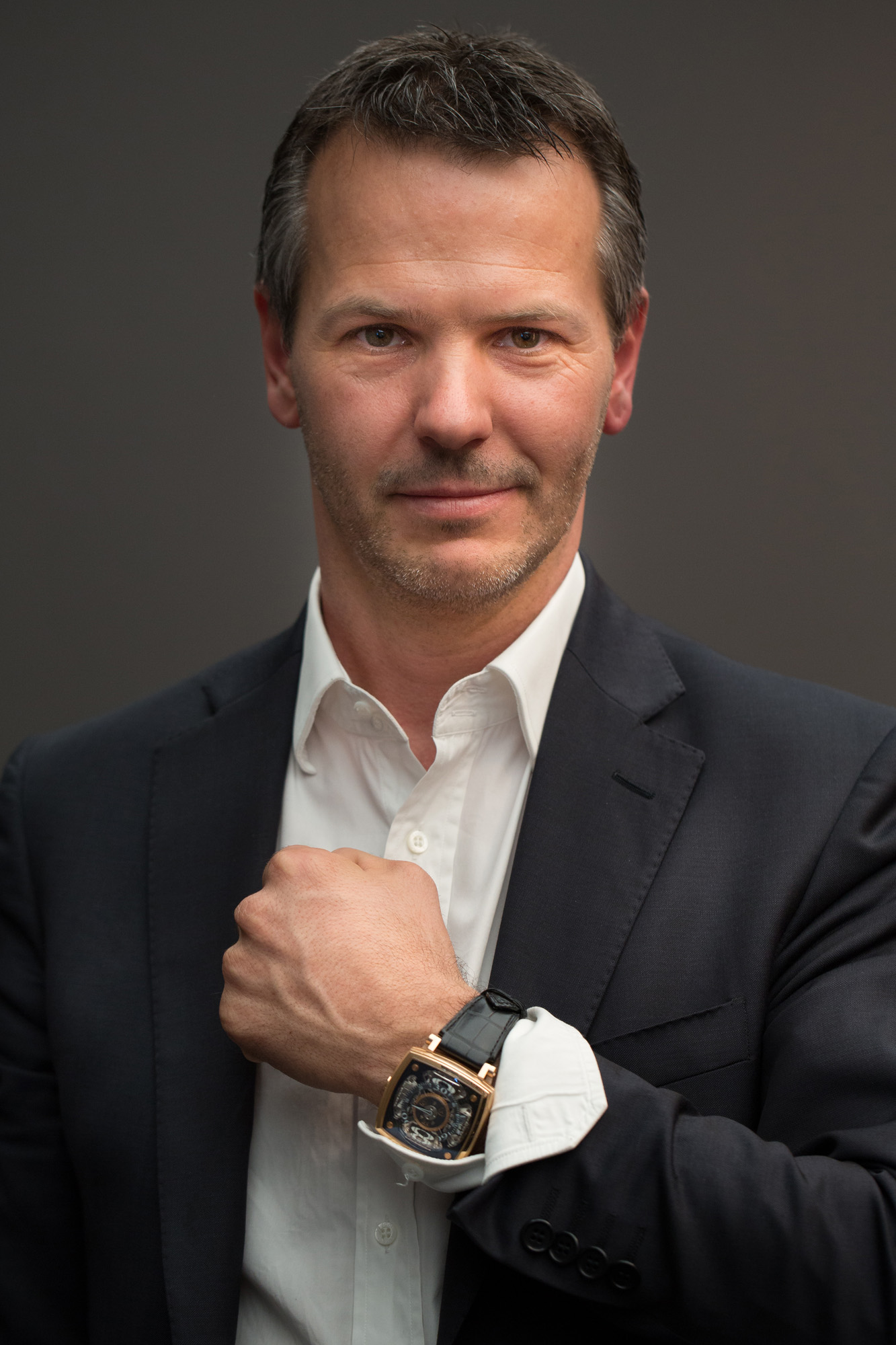 MCT Watches CEO François Candolfi wearing the MCT S-110