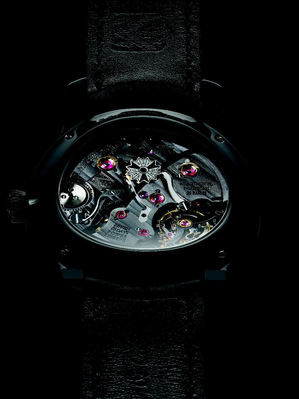H. Moser & Cie QP Black Edition - Caseback