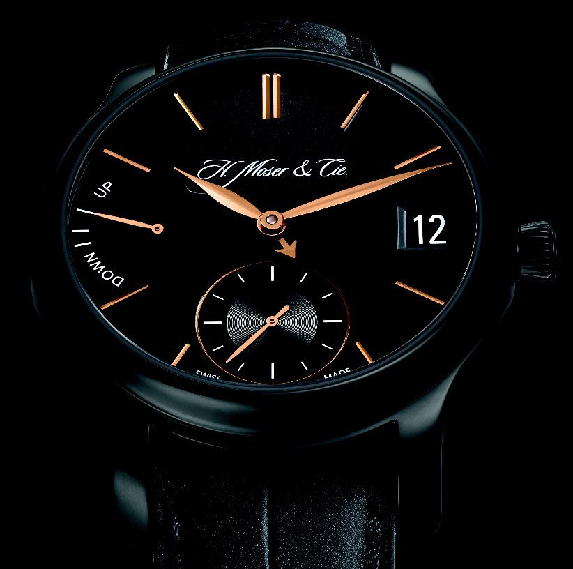 H. Moser & Cie QP Black Edition - Dial