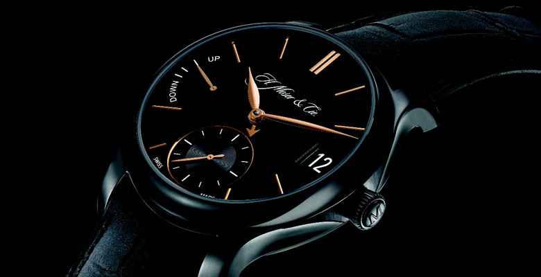 H. Moser & Cie : QP Black Edition - Moser dares the Black