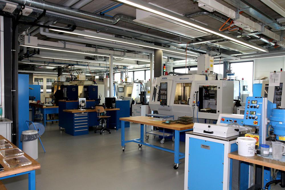 Hublot Manufacture - Machinery